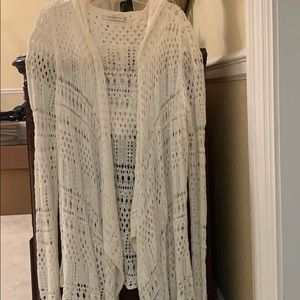 Abercrombie and Fitch open cardigan